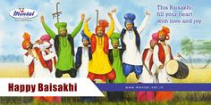 This Baisakhi, fill your heart with love and joy, share your blessings and be thankful.Happy Baisakhi!