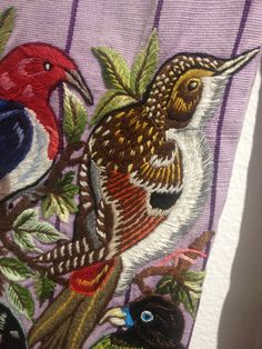 Guatemalan embroidery, textiles museum Toronto