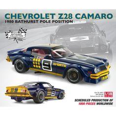 Chevrolet Z28 Camaro / 1980 Bathurst Production Canceled Holden Australia, V8 Supercars, Australian Cars, Sports Sedan, Diecast Model Cars, Road Racing, Motor Sport, Scale Models, Touring