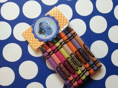 6 Finding Dory crayons party favors, also chuggington, Little Einsteins, Minnie Mouse, Yo gabba gabba, Elmo, My little pony and more... by…