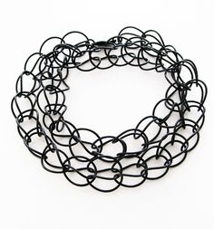 Gummihalsband, rubber necklace, o-ring