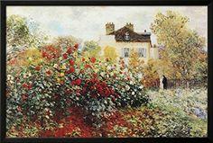 Claude Monet The Artist's Garden Art Print Poster Framed ... https://www.amazon.com/dp/B004W84PMU/ref=cm_sw_r_pi_dp_x_Zat7ybDR2SRD3 #buyartforless
