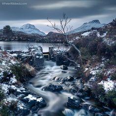Loch Bunie Moire in Assynt, Scotland