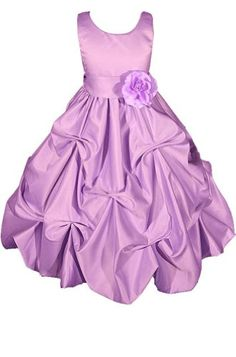 AMJ Dresses Inc Heavenly Lilac Flower Girl Wedding « Dress Adds Everyday
