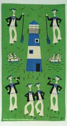 Sailors Hornpipe ✭ vintage illustration ✭ graphic deign inspiration