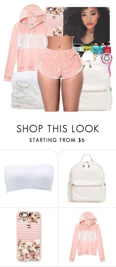 """."" by eirinimaria ❤ liked on Polyvore featuring Charlotte Russe, A BATHING APE, BP., Casetify and Victoria's Secret"