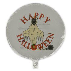 #Halloween Hugo Bogie Mylar Balloon