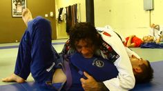 Kurt Osiander: Move of the Week - Demoraliser + Choke #BJJ www.Facebook.com/McDojoLife