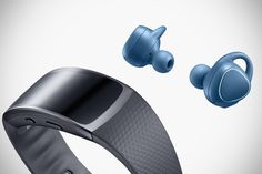 Samsung Gear Fit2 and Gear IconX Fitness Earbuds