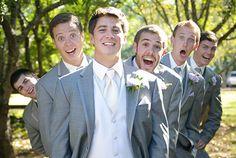 смешные свадебные фото, жених и друзья жениха