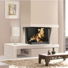 Great Cost-Free simple Corner Fireplace Suggestions Part fireplaces provide variety benefits to folks by using accumulating spaces terrific as well as small. Corner Gas Fireplace, Bedroom Fireplace, Home Fireplace, Living Room With Fireplace, Fireplace Surrounds, Shiplap Fireplace, Fireplace Ideas, Fireplaces, Boho Chic Living Room