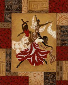 Rejoice II Print by Jane Carroll at Art.com