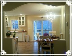 Eat in kitchen~Sherwin Williams-Jersey Cream.