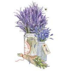 Herb Jars-Lavender