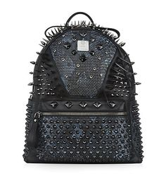 Special edition Medium Spikes and Studs Backpack available to buy at Harrods. Shop MCM bags online & earn reward points with Free Returns on UK orders.