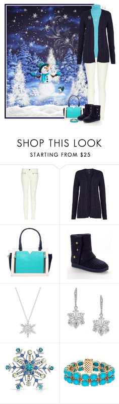 """We Could Build a Snowman"" by kelley74 ❤ liked on Polyvore featuring dVb Victoria Beckham, Lands' End, Vince Camuto and UGG Australia"