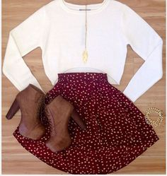 Thanksgiving outfit... this with black leggings would be soo cute