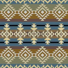 Seamless navajo inspired geometric pattern Stock Photo - 19844315