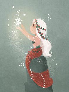 More Winter mermaids .InstagramFacebookTumblr