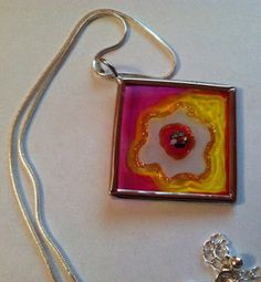 WHAT IS CREATIVITY?? Creativity is Endless - You Can Make it if You Can Imagine It....: ETCHALL BLOG HOP - SPRING BLOOM PENDANT