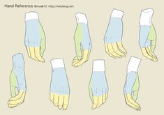 Drawing Tips 手のイラスト資料集 -Hand Reference Hand Drawing Reference, Anatomy Reference, Art Reference Poses, Drawing Base, Drawing Tips, Figure Drawing, Drawing Hands, Hand Drawings, Drawing Tutorial Hands