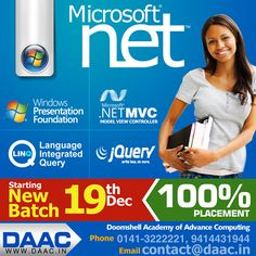Become .Net professional at DAAC