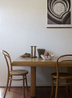 Bentwood Dining Chairs.