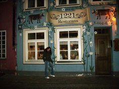 Riga by night, Latvia, 2011