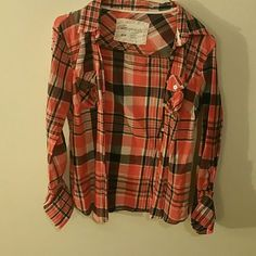 Areopostale button down shirt Womens Areopostale button down shirt size M Aeropostale Tops Button Down Shirts
