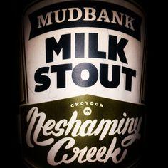 Mudbank Milk Stout by Neshaminy Creek  #craftbeer #beerporn #beer #brew #beersnobs #beersnob #beergeek #beergeeks #beernerd #beernerds