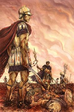 Carthaginian victory at the battle of cannae-Hannibal