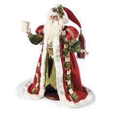 Mark Roberts Pockets Of Wishes Santa Figure