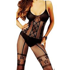 5bfce114fac Daisland Women Sexy Lingerie Sleepwear Nightwear Hot Babydoll Robe Body  Stocking    For more information