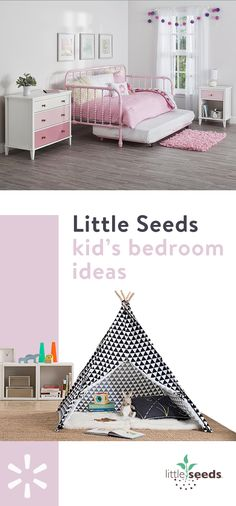 Upgrade your kid's room with the brands they love at Walmart.com, like Little Seeds! Turn the everyday into an adventure and give them a tent that's sure to become a quick favorite house hiding spot. Find it at Walmart.com today!