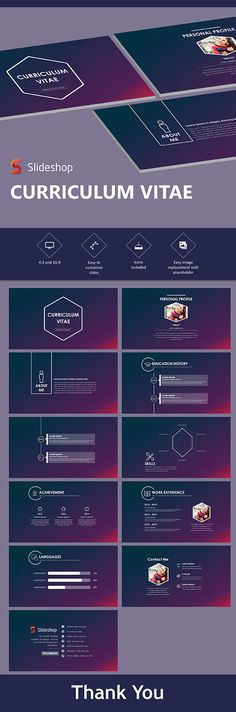 Buy CV by Slideshop on GraphicRiver. A highly editable presentation template. Presentation format in .pptx Users will received two presentation file sizes. Simple Powerpoint Templates, Creative Powerpoint Presentations, Professional Powerpoint Templates, Powerpoint Themes, Keynote Template, Curriculum Vitae Format, Curriculum Vitae Examples, Presentation Format, Business Presentation