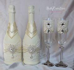Купить или заказать Свадебные бокалы