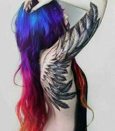 Nice shot #tattoo #wings #ink