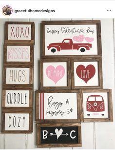 My Funny Valentine, Valentine Theme, Valentines Day Decorations, Valentine Day Love, Valentine Day Crafts, Holiday Crafts, Happy Hearts Day, Holiday Signs, Valentine's Day Diy