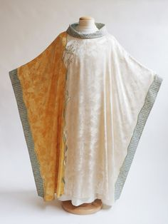 Asymmetrical Lily Chasuble