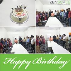 #birthday #celebration #zenscale #officelife #cheerfulday