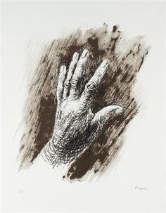 Henry Moore The Artist's Hand III Lithograph on Paper 1979 Henry Moore Artwork, Henry Moore Drawings, Picasso Paintings, A Level Art, Hand Art, Watercolor Artists, Vincent Van Gogh, How To Draw Hands, Abstract Art