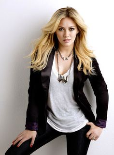 Hilary Duff flaunting her hip hugging jeans. Get more Hilary Duff style inspiration on the latest episodes of Younger at http://www.tvland.com/shows/younger.
