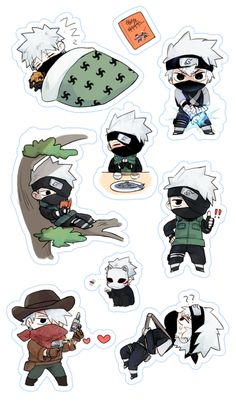 Stickers for Kakashi