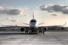 #airplane #gdansk #epgd; photo: Łukasz Gano