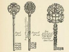 Vintage French keys...