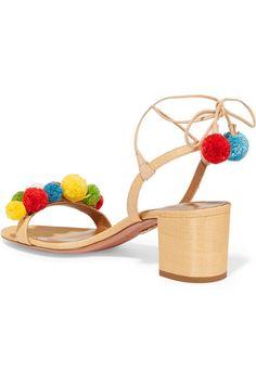 99854798aa 22 Best Pom Pom Sandal images | Shoe, Shoes sandals, Flat sandals