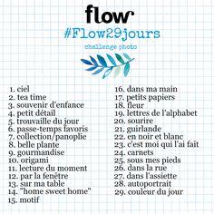 Challenge photo Février Flow magazine