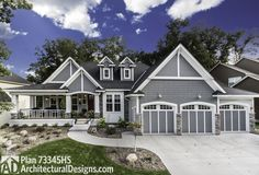 3 Bed Storybook House Plan - 73345HS | Country, Craftsman, Northwest, Exclusive, Luxury, Photo Gallery, Premium Collection, 1st Floor Master Suite, CAD Available, Media-Game-Home Theater, PDF | Architectural Designs