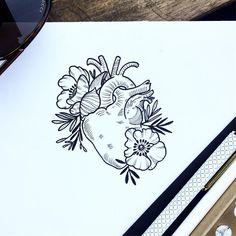 """1,192 likerklikk, 40 kommentarer – NATHALYBONILLA *tattoo* 🇻🇪 (@nathalybonilla) på Instagram: """"Always with the heart in the right place 🌿🌎💚 📩 NathalyBonilla.tattoo@gmail.com"""""""