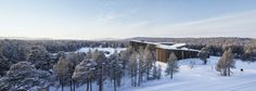 Sami Cultural Center Sajos in Inari, Finland – Halo Architects | Arketipo